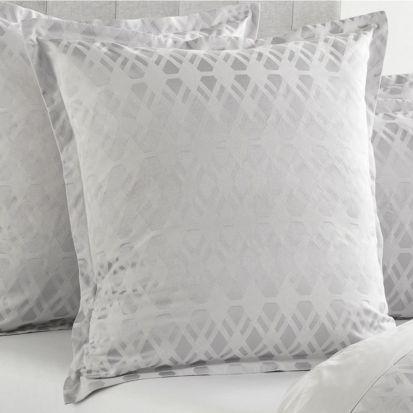 Sheridan Brookley Silver European Pillowcase Single - 65cm x 65cm