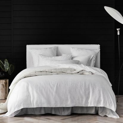 Sheridan Sanderling White Duvet Cover Set - King