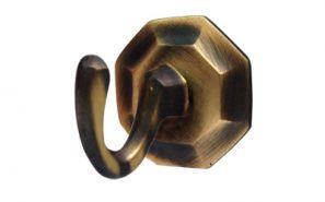 Starr Plain Bronze Curtain Holdback Hooks