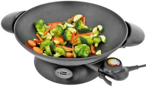 Stellar 35CM Non-Stick Electric Family Wok