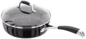 Stellar 3000 Black 24cm Saute Pan