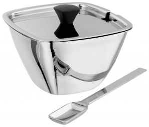 Stellar Lugano Stainless Steel Sugar Bowl