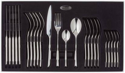 Stellar Raglan 24-Piece Polished Cutlery Set