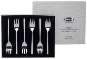 Stellar Rochester Set of 6 Pastry Forks