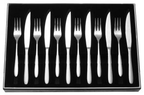 Stellar Winchester Set of 6 Steak Knives & Forks BW36