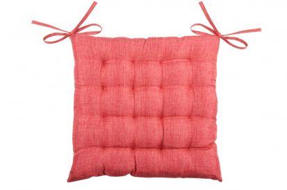 Stof France Seat Cushion 40cm x 40cm - Rouge
