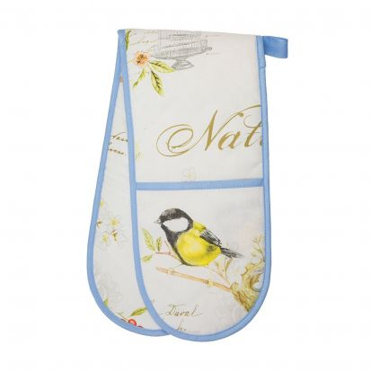 Stow Green Songbird Double Oven Glove