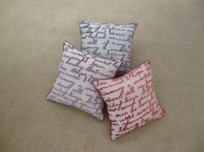 Stratton Filled Cushion - Slate