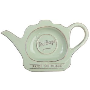 T&G Pride of Place Teabag Tidy Old Green