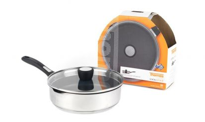 Thomas Lock & Pour Non-Stick Saute Pan & Lid
