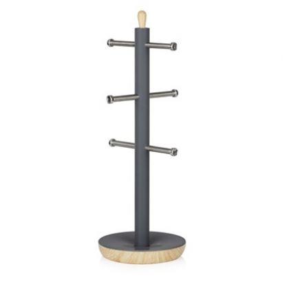 Tower Scandi Mug Tree - Grey