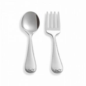 Vera Wang Infinity Baby 2 Piece Cutlery Set