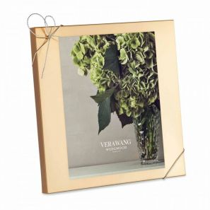 Vera Wang Love Knots Gold Photo Frame 8