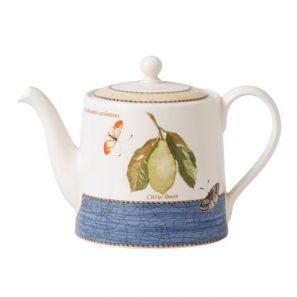 Wedgwood Sarah's Garden Blue Teapot
