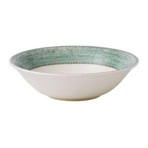 Wedgwood Sarah's Garden Green Cereal Bowl