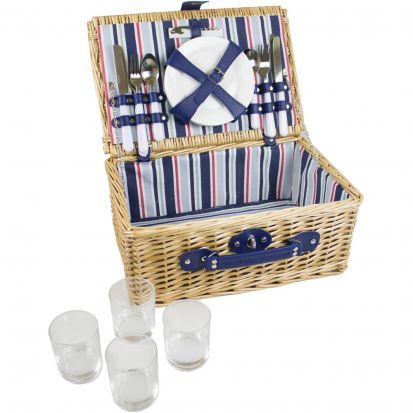 Yellowstone 4 Person Picnic Basket