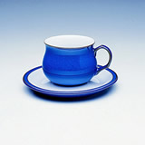 Denby Imperial Blue Tea Saucer