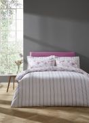 Bianca Arctic Poppy Blush Duvet Cover Set - Double