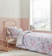 Bianca Woodland Unicorn and Stars Pink Duvet Cover Set - Double 1