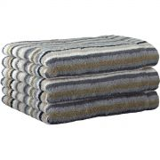 Cawo Lifestyle Stone Stripe - Hand Towel