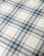 Christy Thurloe Check Duvet Cover Set Blue - Double 3