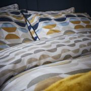 Content by Conran Eclipse Ochre Duvet Cover Set - Double 3