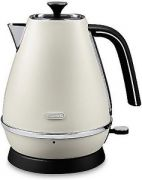 Delonghi Distinta 1.7L Kettle - White