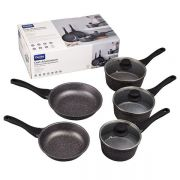 Denby Cast Aluminium 5 Piece Cookware Set