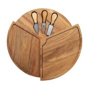 Denby James Martin 4 Piece Cheese Board Set