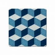 Denby Studio Blue Geometric Square Placemats Set of 6