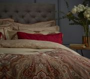Dorma Nasrina Paprika Duvet Cover Set - Superking 2