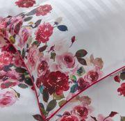 Dorma Roses Pink Standard Pillowcase Pair 2