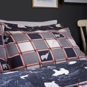 Fat Face Polar Bear Navy Duvet Cover Set - Single 4