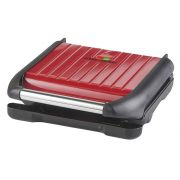 George Foreman 5 Portion Grill Steel Red