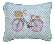 Helena Springfield Trixie Duck Egg Cushion 30x40cm 2