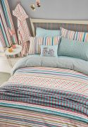 Helena Springfield Trixie Duck Egg Duvet Cover Set - Double 2