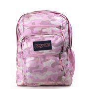 Jansport Big Student Backpack Cotton Candy Camo