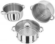 Judge 3 Tier Steamer Saucepan - 22 CM 1