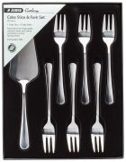 Judge 7-Piece Cake Slice and Fork Set