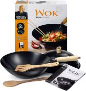 Ken Hom 31CM Non Stick 5 Piece Wok Set