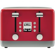 Kenwood kMix 4 slice Toaster Red