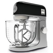 Kenwood kMix Stand Mixer Black - With Glass Mixing Bowl