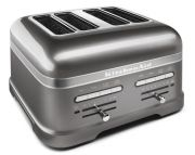 KitchenAid Artisan 4 Slice Toaster Medallion Silver