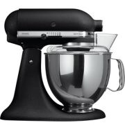 KitchenAid Artisan KSM150 Stand Mixer - Cast Iron Black