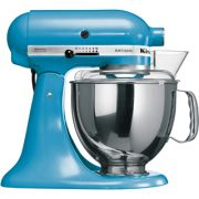 KitchenAid Artisan KSM150 Stand Mixer - Crystal Blue