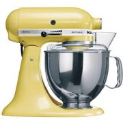 KitchenAid Artisan KSM150 Stand Mixer - Majestic Yellow