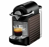 Krups Pixie Nespresso Coffee Maker - Brown