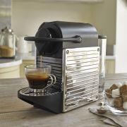 Krups Pixie Nespresso Coffee Maker - Stainless Steel