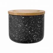 Ladelle Stak Black Speckled 9cm Cannister