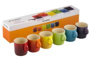 Le Creuset Set of 6 Espresso Mugs